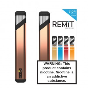 Remit Starter Kit with Variety Flavor Pack (Rose Gold)