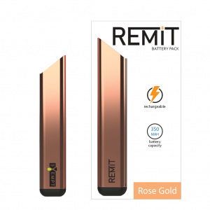 Remit Battery Pack - Brushed Rose Gold